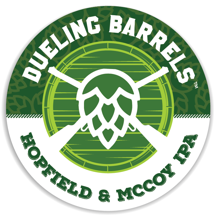 Dueling Barrels Hopfield and McCoy IPA